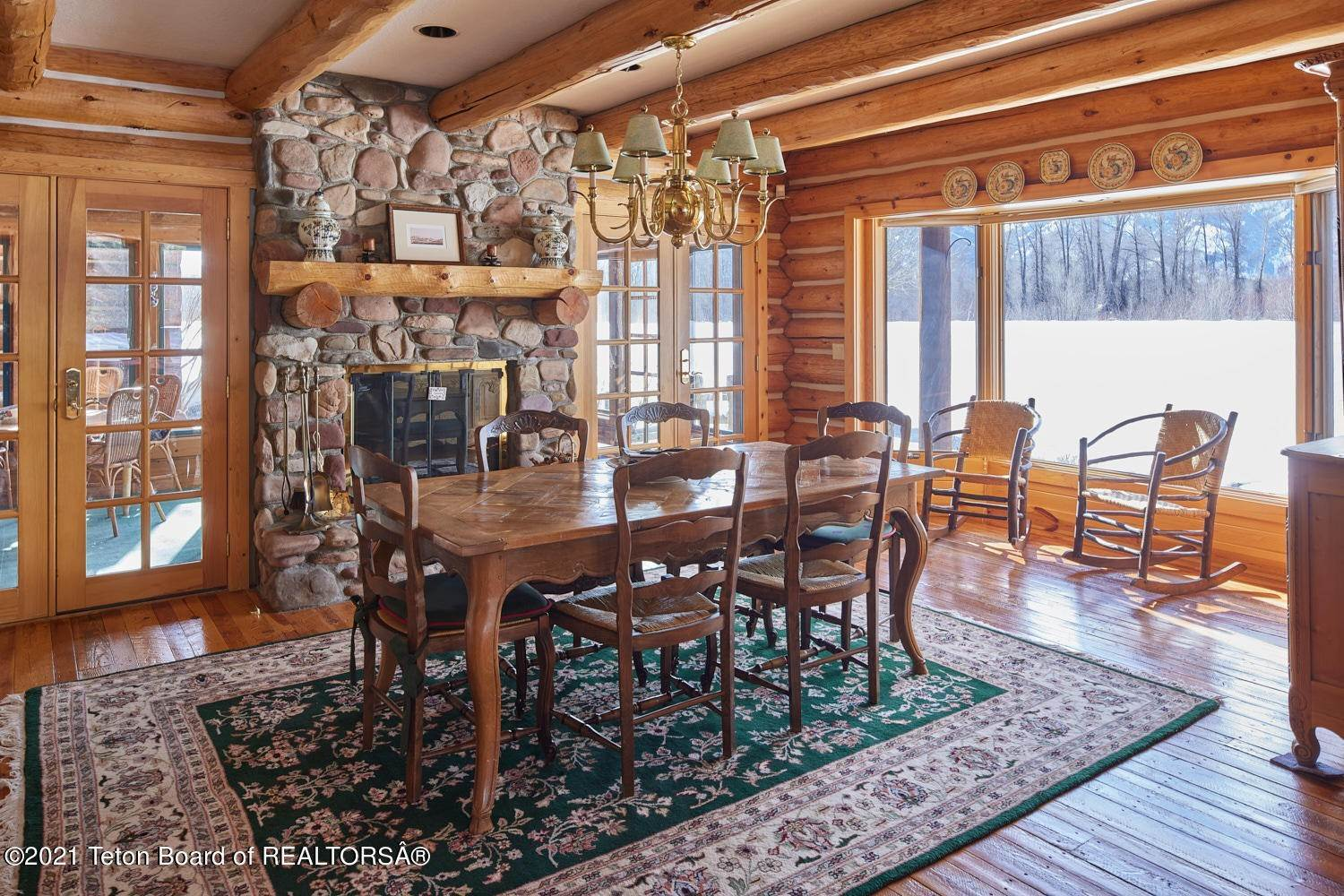 16. Single Family Homes for Sale at 5155/5095 N PRINCE PLACE Jackson, Wyoming 83001 United States