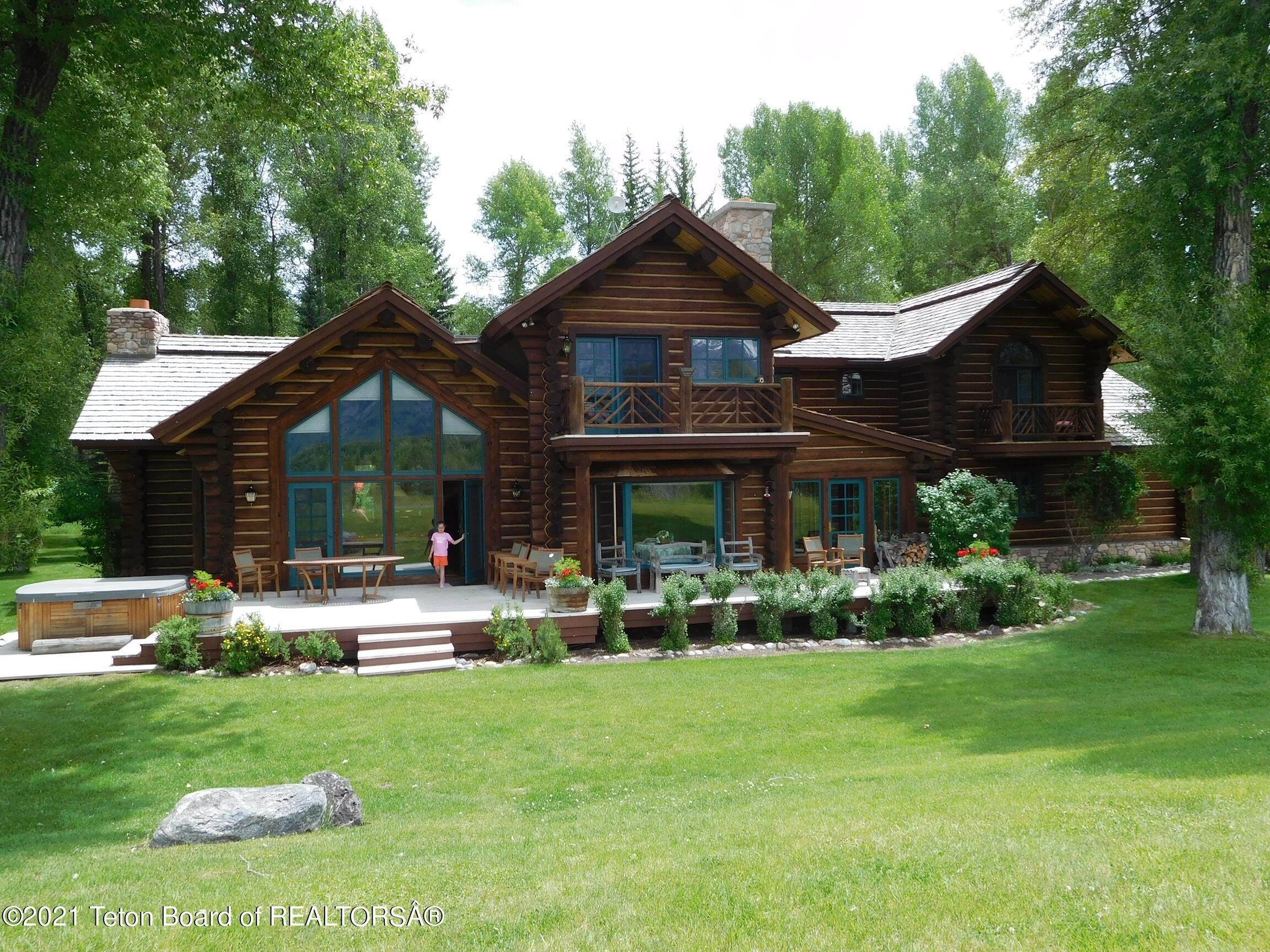 2. Single Family Homes for Sale at 5155/5095 N PRINCE PLACE Jackson, Wyoming 83001 United States