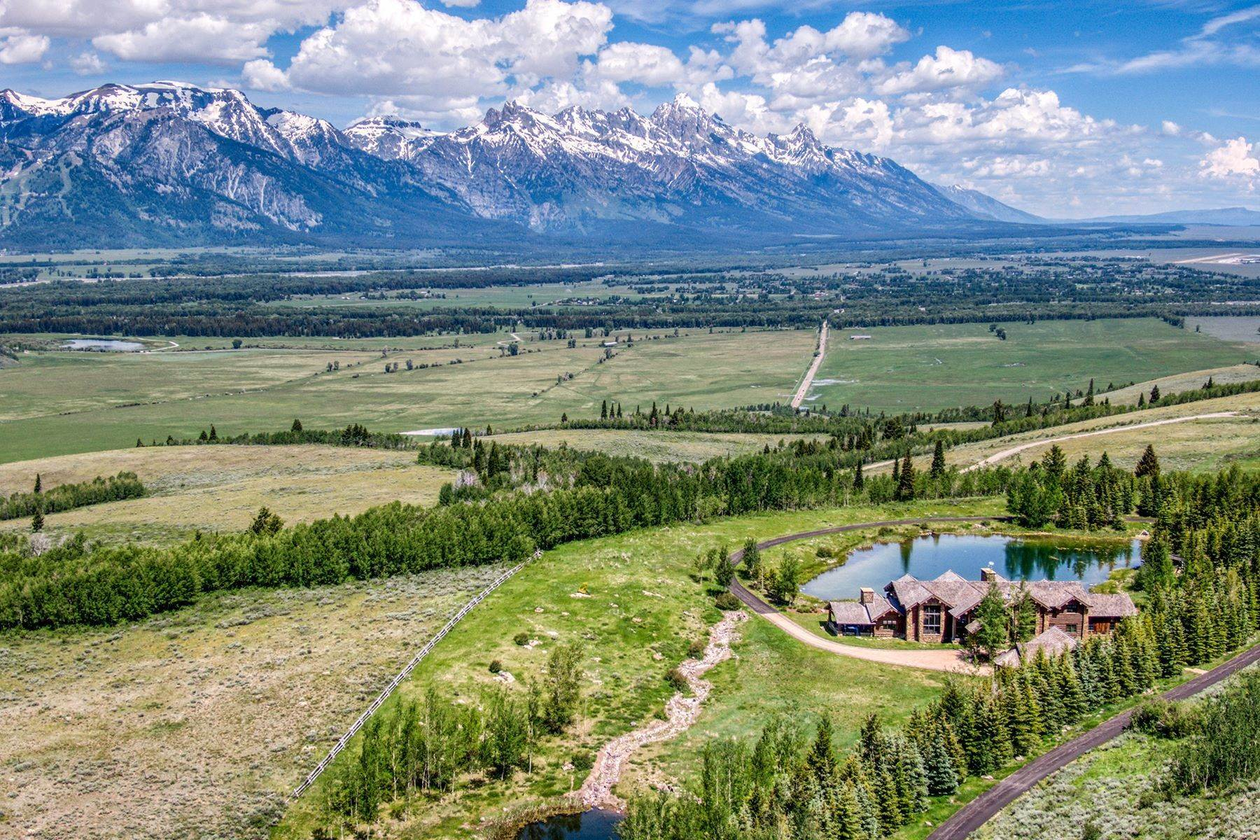 Property for Sale at Riva Ridge Retreat, Residence of Western Grandeur 3000 Riva Ridge Road Jackson, Wyoming 83001 United States
