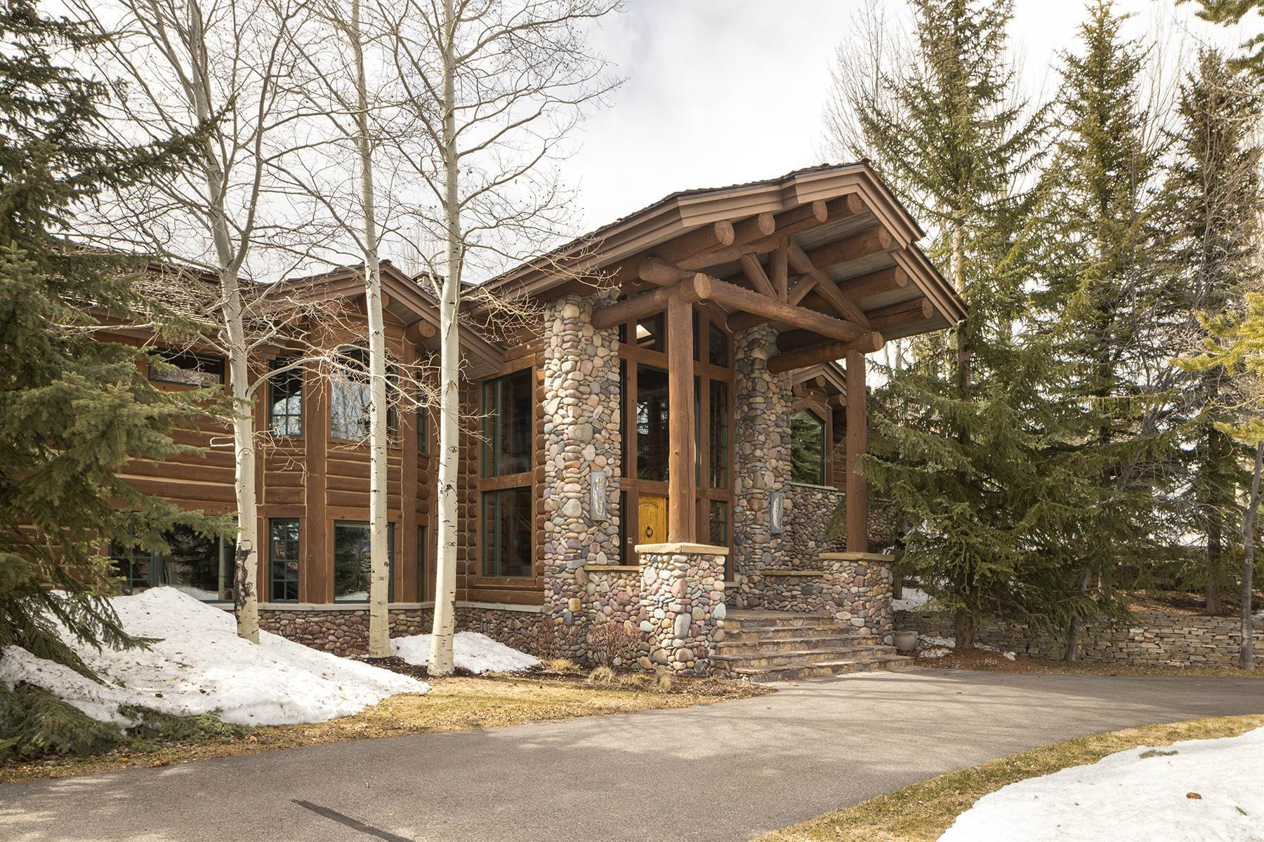 Single Family Homes for Sale at Gros Ventre North Masterpiece 1405 N Gannett Rd Jackson, Wyoming 83001 United States
