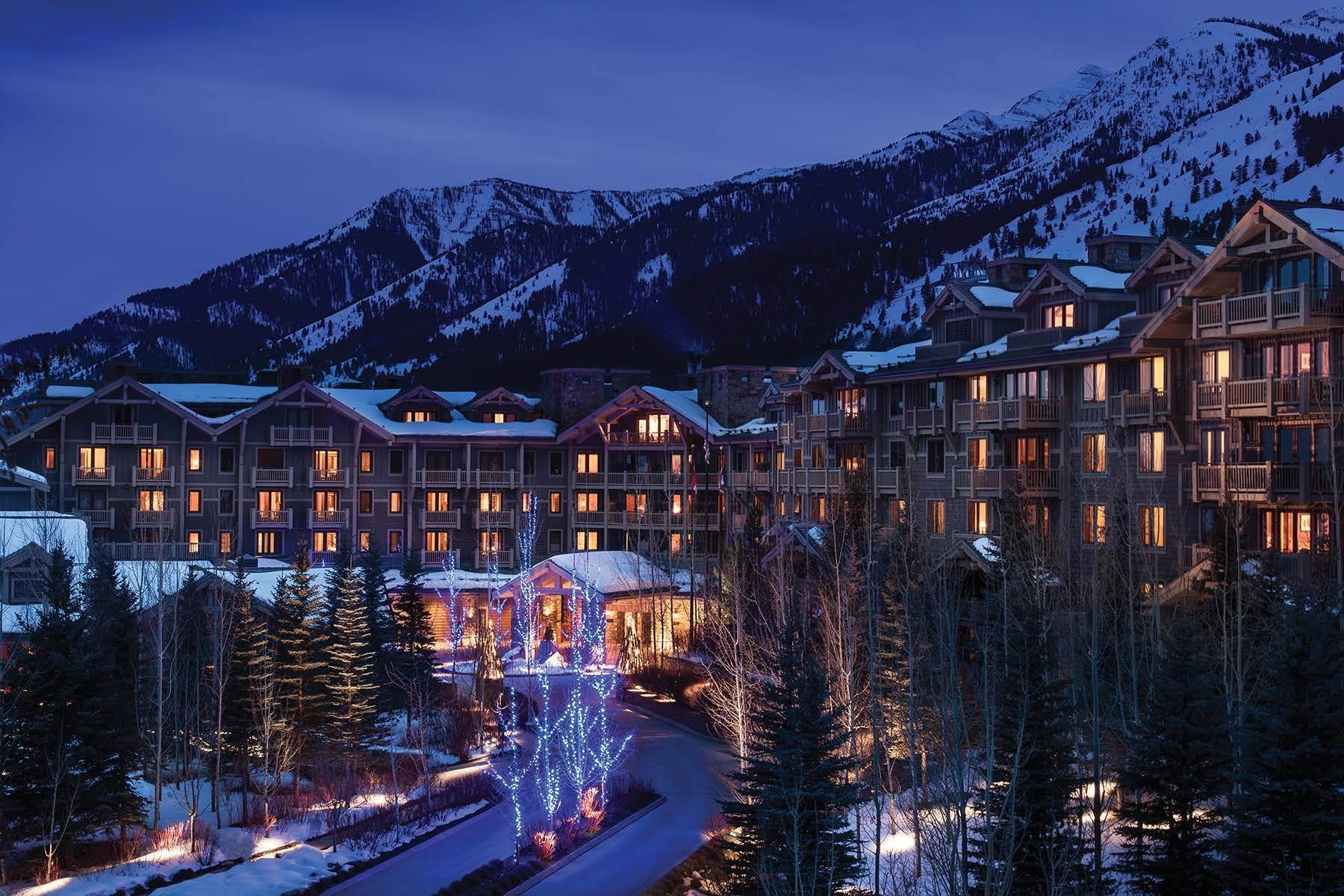 Condominiums for Sale at Refreshed Four Seasons Private Residence 7680 N Granite Loop Road, Unit 850 Teton Village, Wyoming 83025 United States