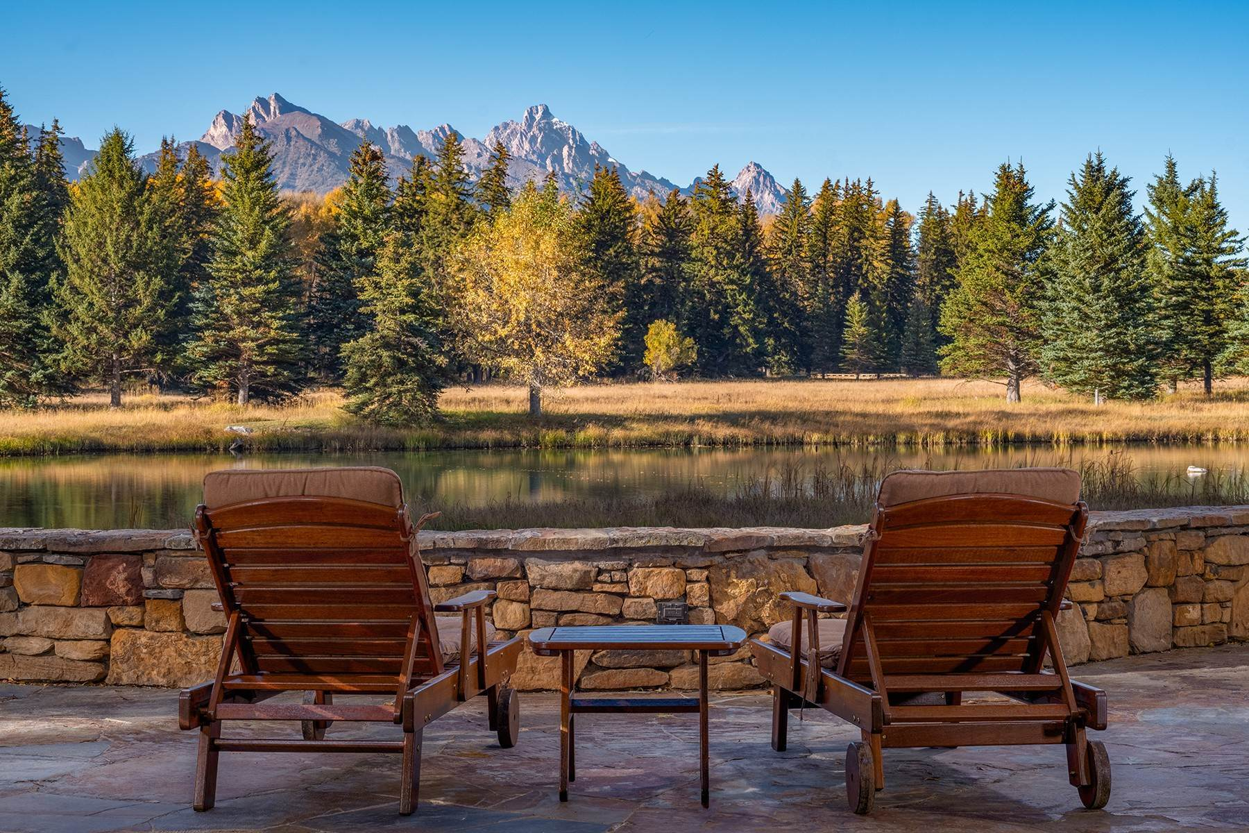 4. Single Family Homes for Sale at Elk Run Estate 1345/1245 Bugling Elk Trail Jackson, Wyoming 83001 United States