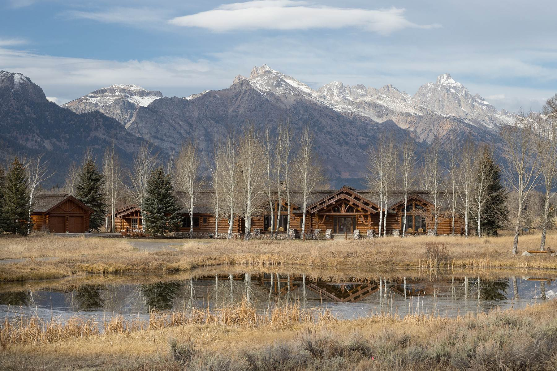 38. Single Family Homes for Sale at 6670 Lower Cascade Drive Jackson, Wyoming 83001 United States