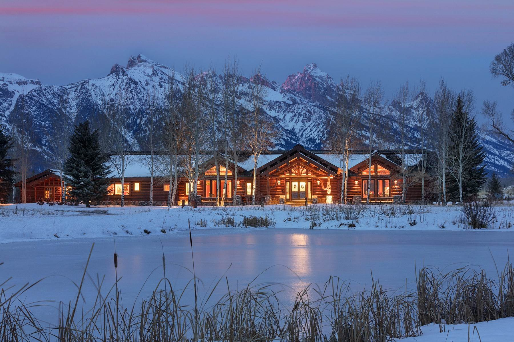 Single Family Homes for Sale at 6670 Lower Cascade Drive Jackson, Wyoming 83001 United States