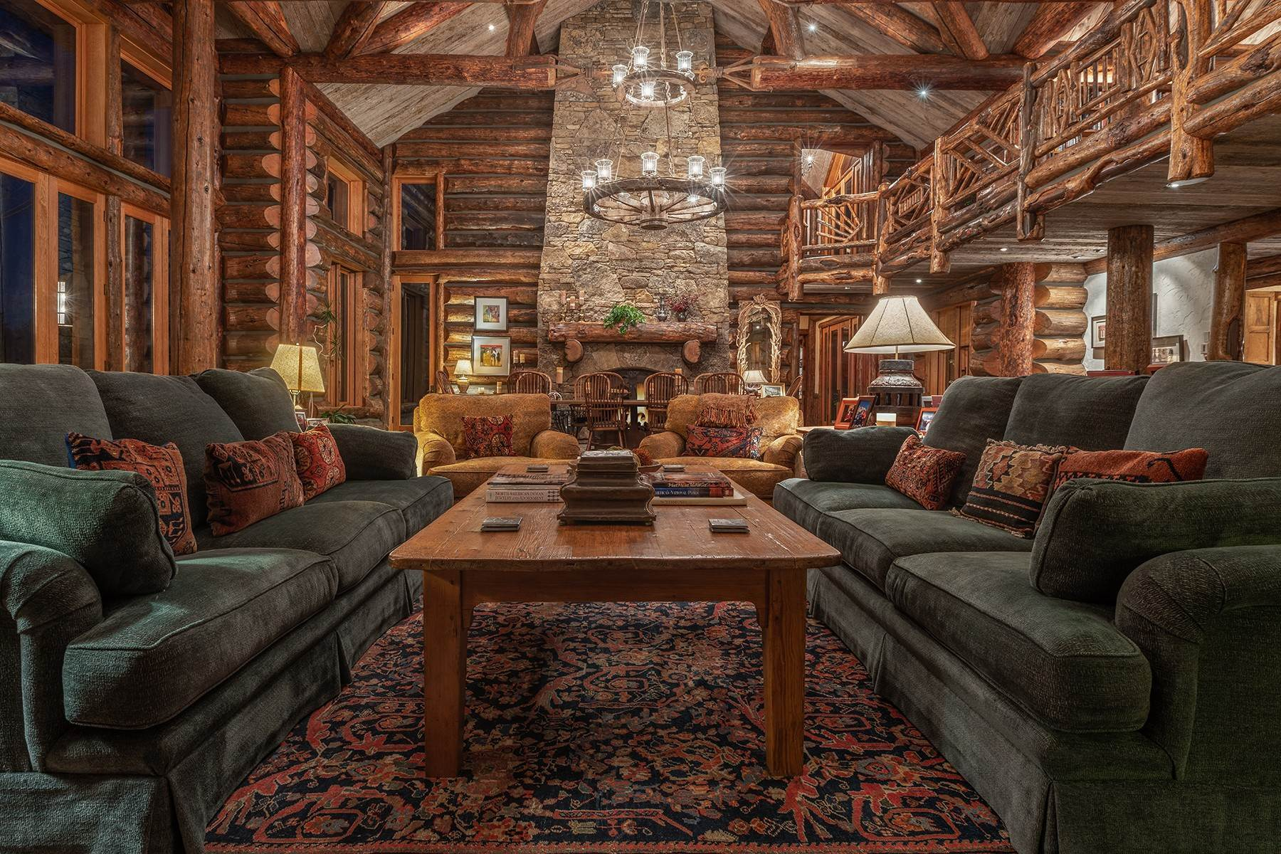 14. Single Family Homes for Sale at Elk Run Estate 1345/1245 Bugling Elk Trail Jackson, Wyoming 83001 United States