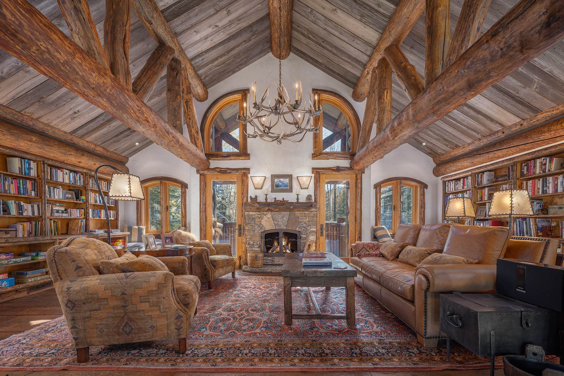 27. Single Family Homes for Sale at Elk Run Estate 1345/1245 Bugling Elk Trail Jackson, Wyoming 83001 United States