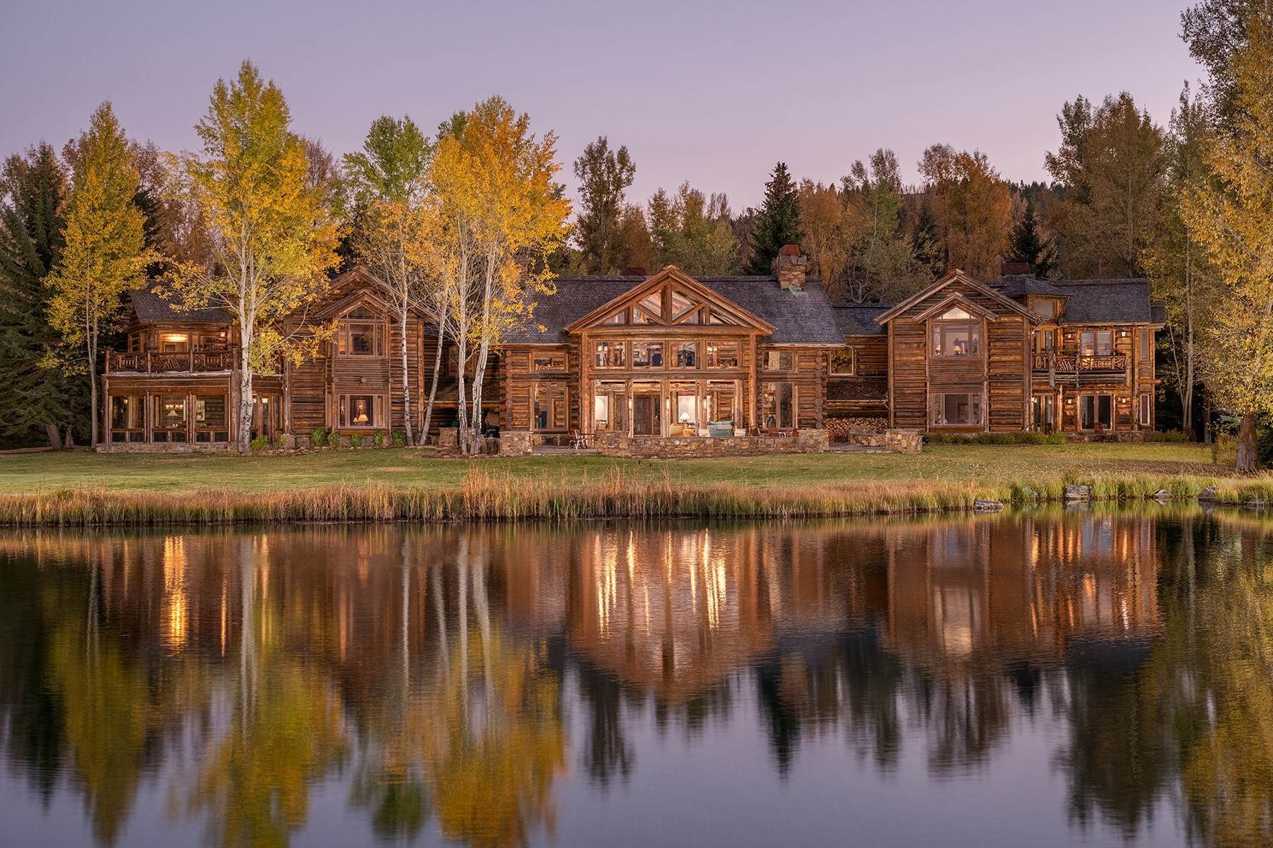 2. Single Family Homes for Sale at Elk Run Estate 1345/1245 Bugling Elk Trail Jackson, Wyoming 83001 United States