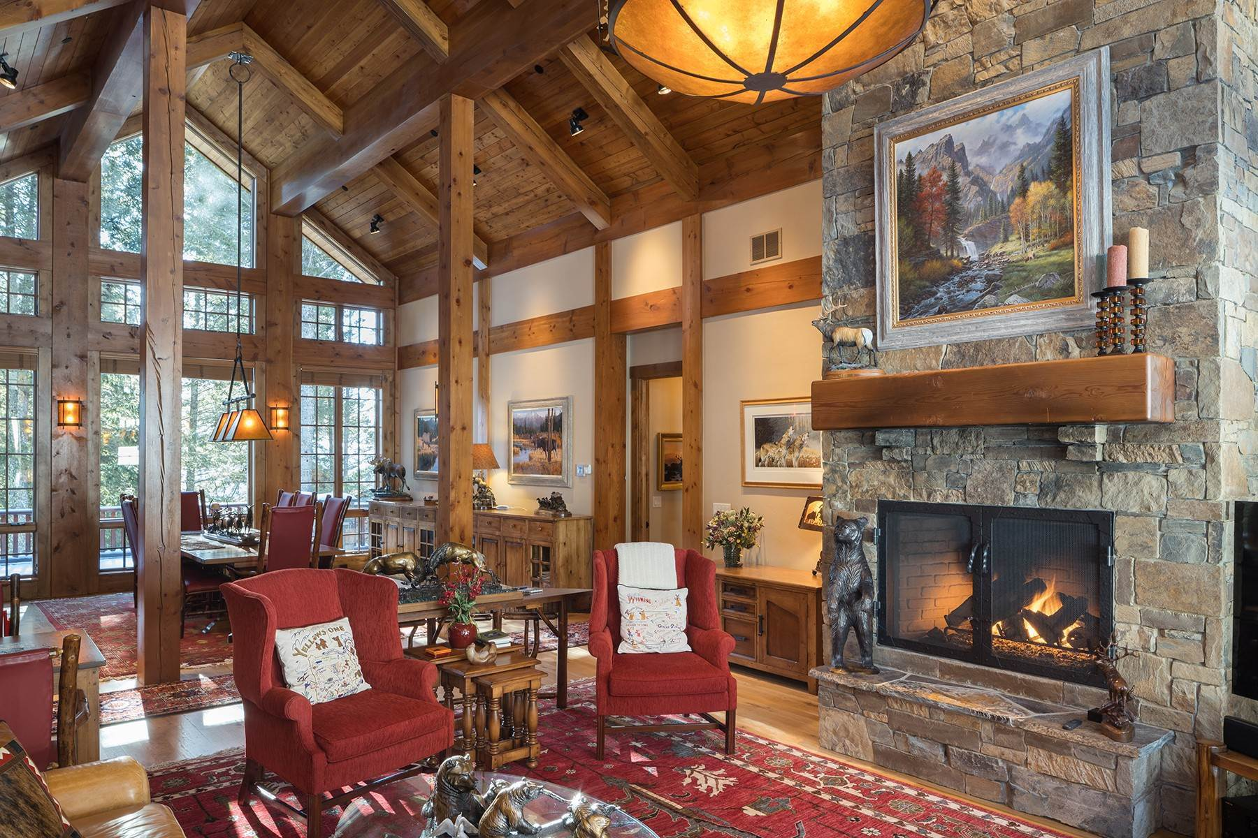 6. Single Family Homes for Sale at 3730 W Curtis Drive Teton Village, Wyoming 83025 United States