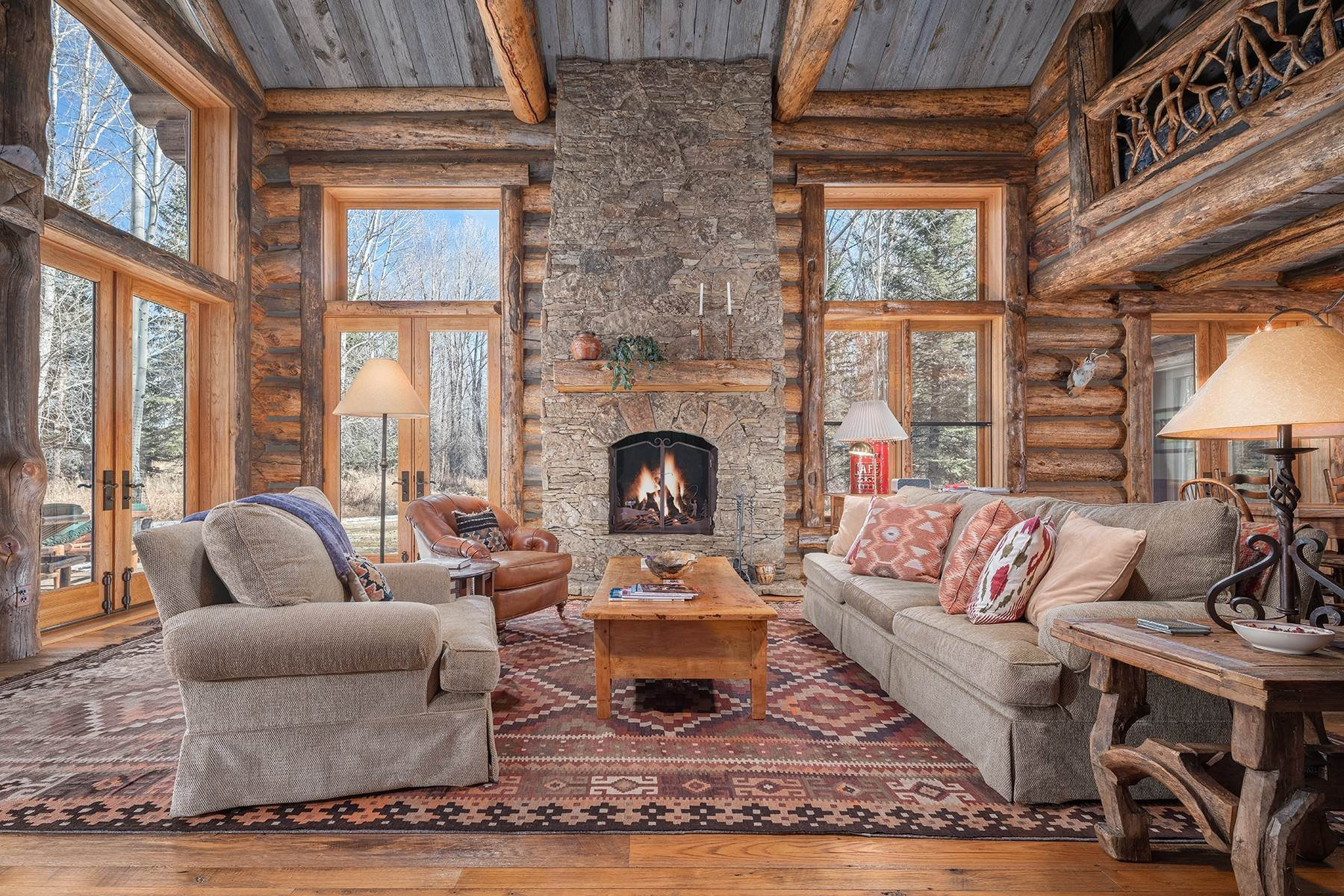 45. Single Family Homes for Sale at Elk Run Estate 1345/1245 Bugling Elk Trail Jackson, Wyoming 83001 United States