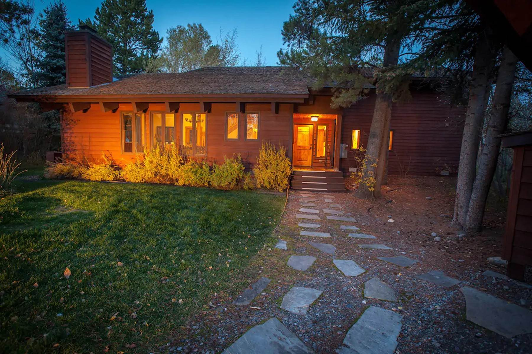 Single Family Homes for Sale at 3835 South Lake Creek Drive Wilson, Wyoming 83014 United States