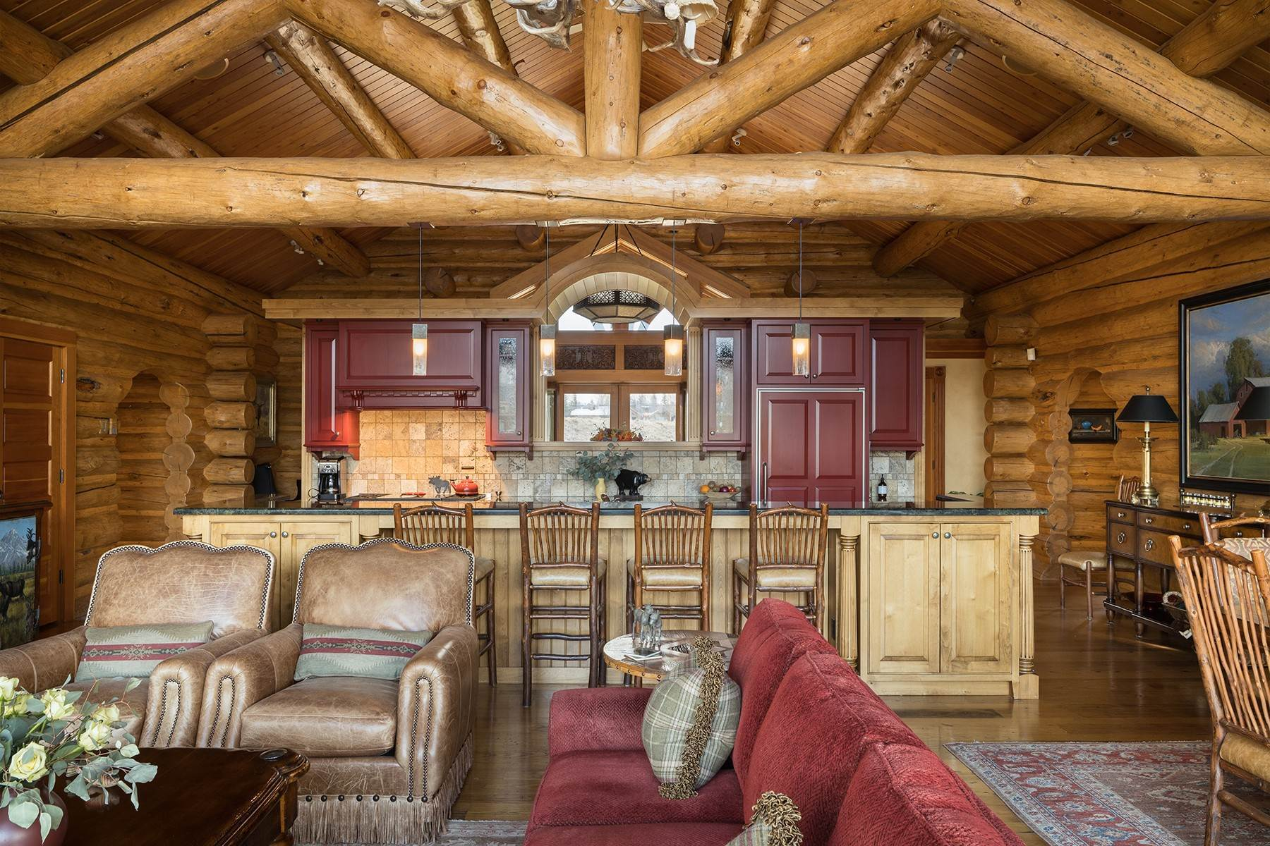 8. Single Family Homes for Sale at 6670 Lower Cascade Drive Jackson, Wyoming 83001 United States