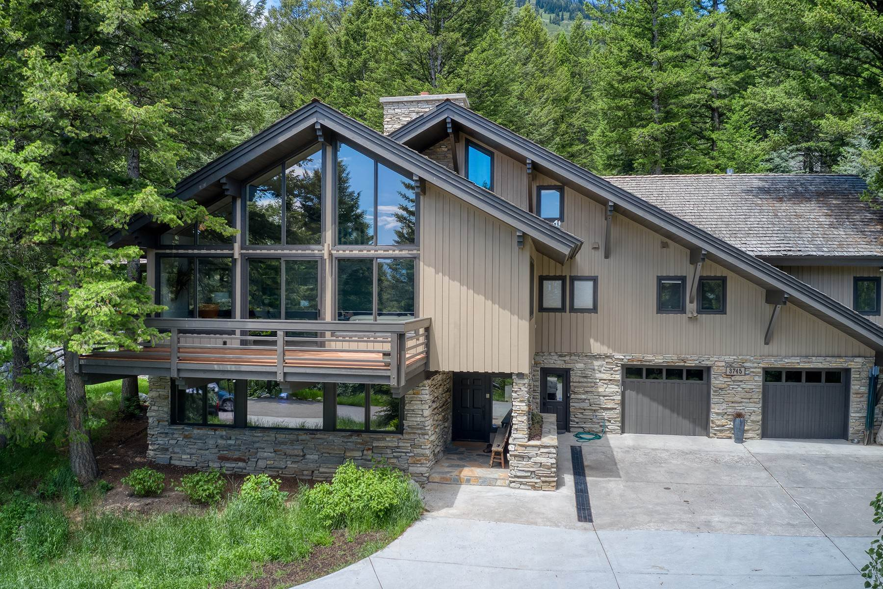 Single Family Homes for Sale at Room to Roam in Teton Village 3745 W Curtis Drive Teton Village, Wyoming 83025 United States