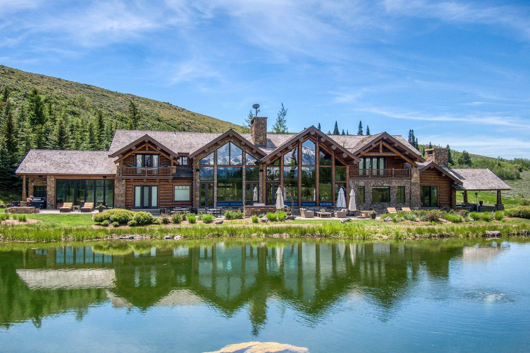 3. Single Family Homes for Sale at Riva Ridge Retreat, Residence of Western Grandeur 3000 Riva Ridge Road Jackson, Wyoming 83001 United States