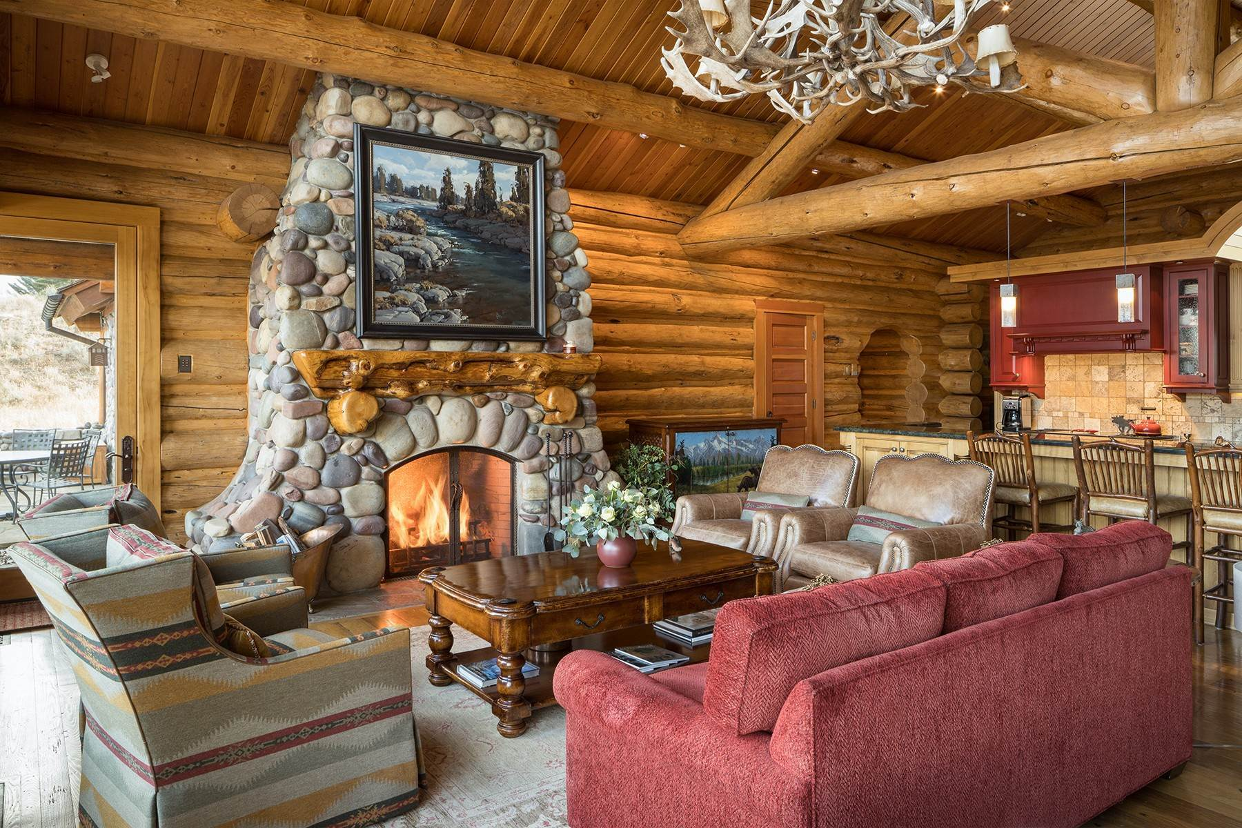 7. Single Family Homes for Sale at 6670 Lower Cascade Drive Jackson, Wyoming 83001 United States