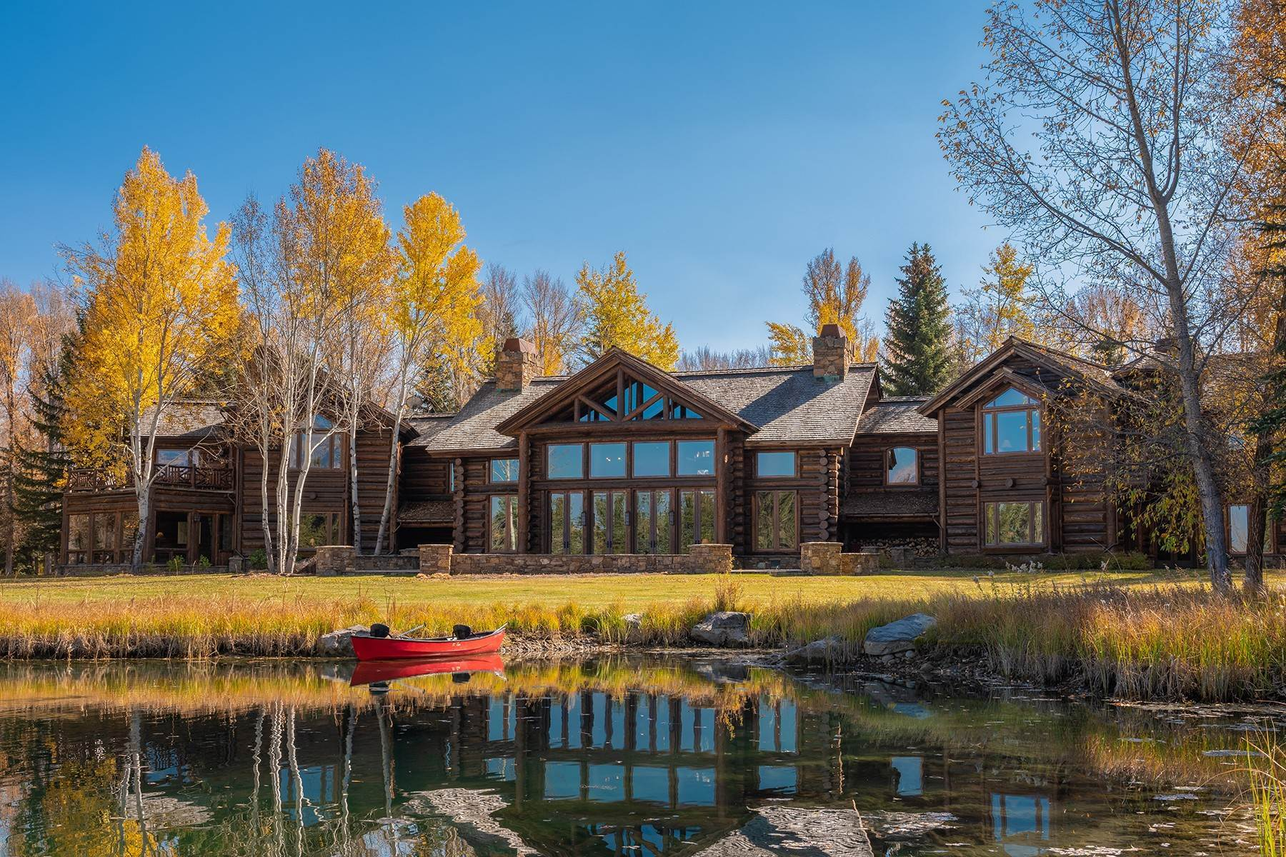 9. Single Family Homes for Sale at Elk Run Estate 1345/1245 Bugling Elk Trail Jackson, Wyoming 83001 United States