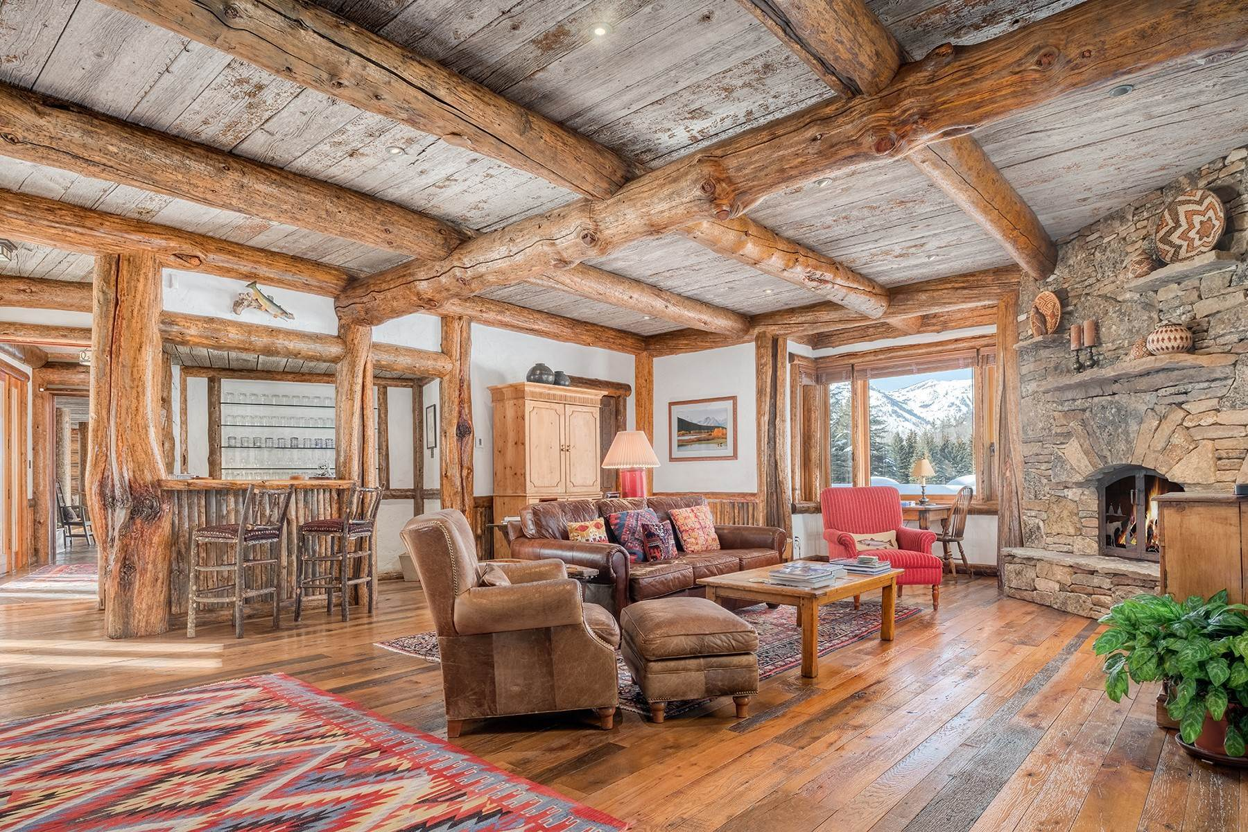 18. Single Family Homes for Sale at Elk Run Estate 1345/1245 Bugling Elk Trail Jackson, Wyoming 83001 United States
