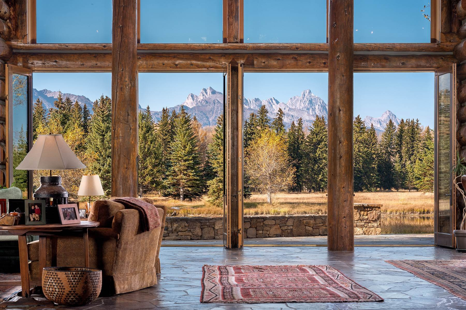 10. Single Family Homes for Sale at Elk Run Estate 1345/1245 Bugling Elk Trail Jackson, Wyoming 83001 United States