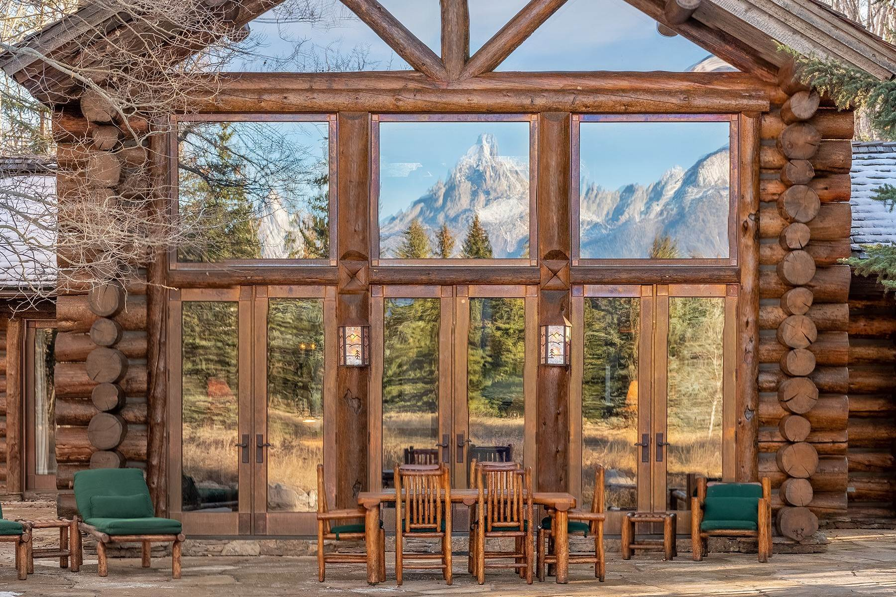 44. Single Family Homes for Sale at Elk Run Estate 1345/1245 Bugling Elk Trail Jackson, Wyoming 83001 United States
