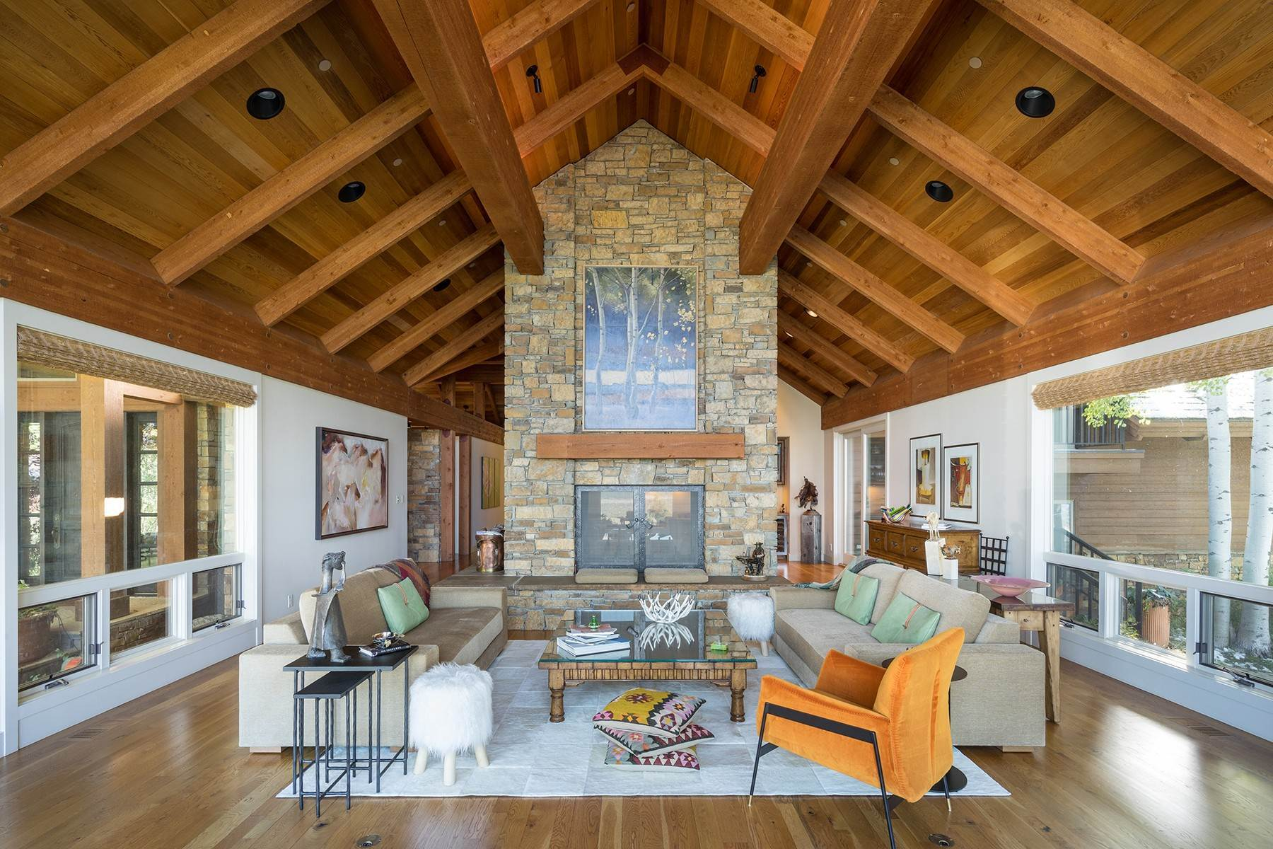 3. Single Family Homes for Sale at Sophisticated Elegance in Gros Ventre North 2540 Trader Road Jackson, Wyoming 83001 United States