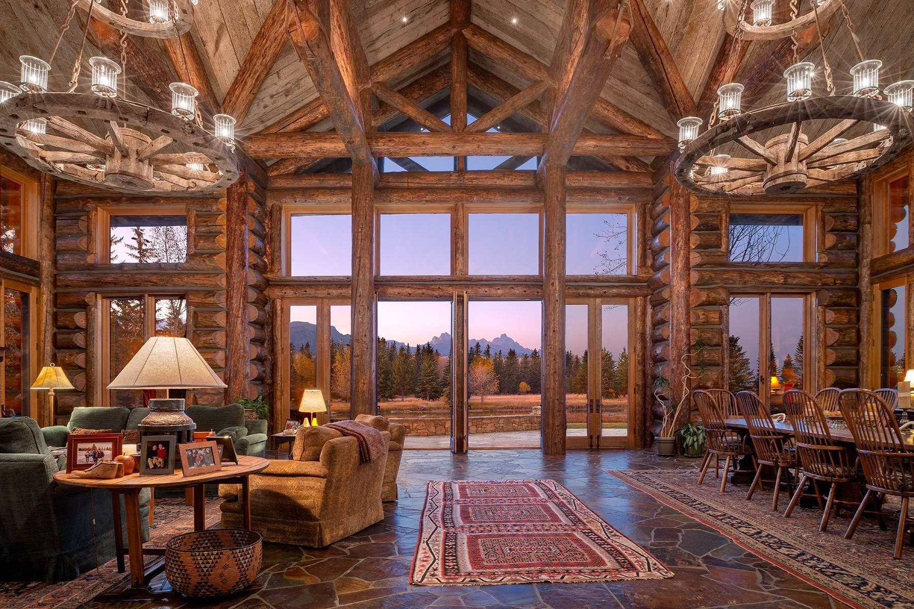 11. Single Family Homes for Sale at Elk Run Estate 1345/1245 Bugling Elk Trail Jackson, Wyoming 83001 United States