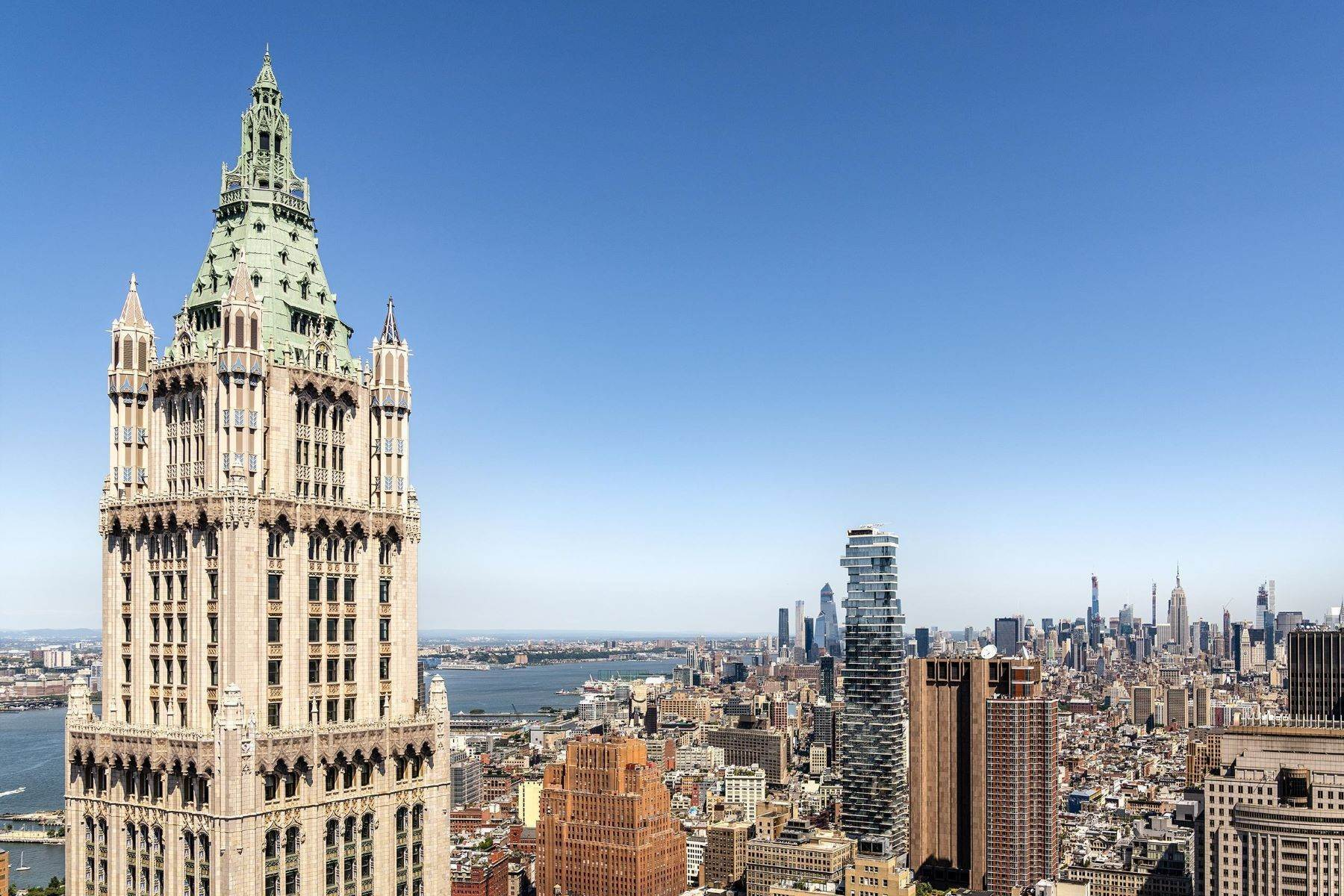 Condominiums for Sale at The Pinnacle Penthouse 2 Park Place, Pinnacle Penthouse New York, New York 10007 United States